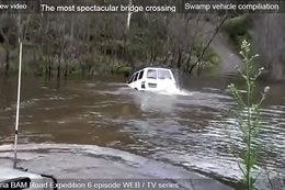 4x4 river crossings