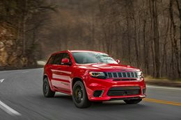 2017 Jeep Trackhawk in australia