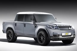 Land Rover Defender coming in 2020