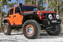 Jeep JK Unlimited Wrangler Rubicon video
