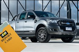 Ford Ranger Sales Report Card