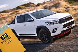 Toyota Hilux report card