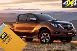 Mazda BT 50 report card
