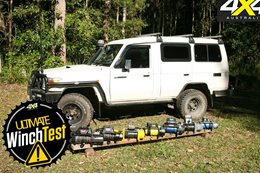 12 volt winch test