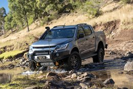 2016 Holden Colorado Z71 custom water crossing