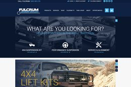 Fulcrum new website