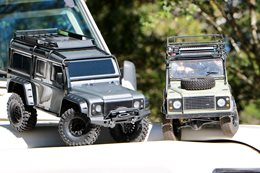 Land Rover Defender models