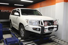 Toyota Prado transmission remapping