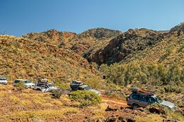 Echo Camp 4WD track Arkaroola SA