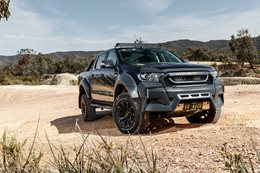 VR46 Ford Ranger outdoors