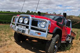 Nissan Patrol V8 headlights
