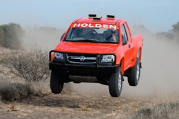 Holden Rally Team Colorado V8