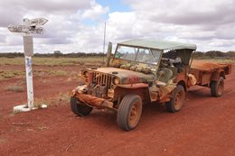 Revisiting Surveyor Generals Corner in WW2 Jeeps