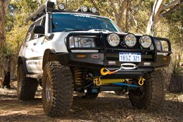 Custom Toyota Land Cruiser 100 Series