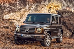 2018 mercedes benz g wagen revealed