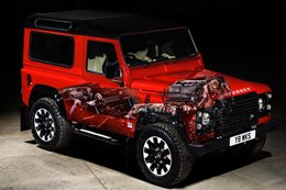 Land Rover Defender Works V8 launched