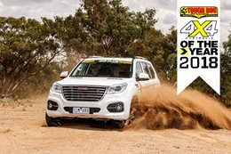Haval H9 Ultra 4X4 of the Year 2018 contender