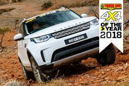Land Rover Discovery SD4 2018