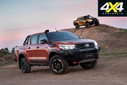 2018 Toyota Hilux Rogue Rugged and Rugged X engineered for Australia