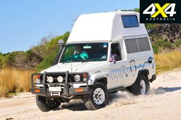 Custom 4x4 Toyota 78 Series TroopCarrier