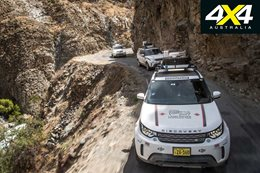 Land Rover Experience 4x4 drive in Peru explore feature south america