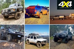 Readers 4x4s GQ Patrol Hilux Triton and six wheeler D Max