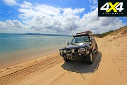 4x4 road trip to Byfield National Park Qld