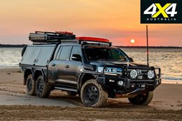 Custom Toyota Land Cruiser 200 6x6 review