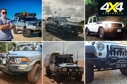 Readers 4x4s Hilux Ranger and plenty of Land Cruisers