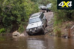 4x4 road trip through the Haunted Stream Track VIC