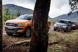 Ford Ranger reclaims top spot ute comparison