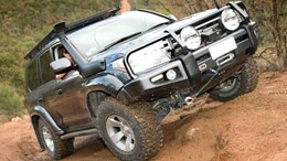 Modified LandCruiser