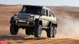 mercedes-benz, g63, crazy, 6x6, four-wheel-drive