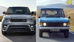 In pics: The evolution of Range Rover, sport, 2014, 4x4 australia, 2013