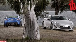 Wheels magazine, motoring, Top 10 2013, Toyota 86, Subaru BRZ