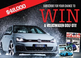WIN a Volkswagen Golf GTI