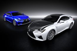 Lexus RC F pricing revealed