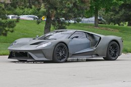 Ford GT spied