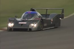Toyota TS010 tests at Eastern Creek