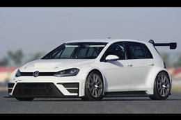 VW reveals Golf racing concept