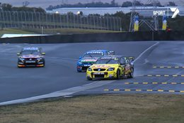 V8 Supercars drifting