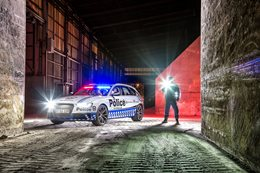 Audi RS4 Avant joins police force