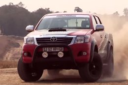 Toyota Hilux IS F Racing Experience