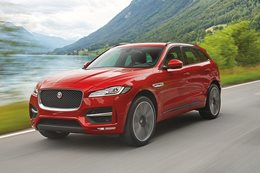 Jaguar F-Pace revealed