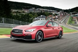 Infiniti Eau Rouge cancelled