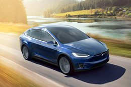 Tesla's new Model X is faster than an AMG GT