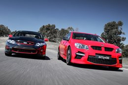 HSV GTS vs FPV R-Spec