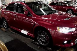 Mitsubishi builds the last Lancer Evos