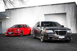 HSV Clubsport vs Chrysler 300 SRT8 Core