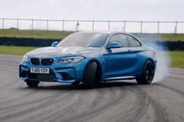 BMW M2 drift Anglesey